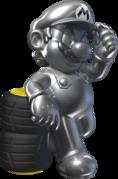 Mario Kart Tour Characters, metal mario
