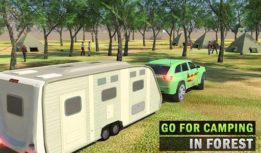 Camper Van Truck Simulator: Cruiser Car Trailer 3D 1.10 screenshots 7