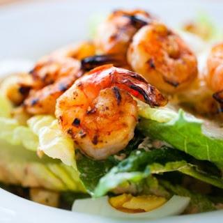 Cajun Shrimp Salad.