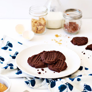 Gluten-Free Nutella And Peanut Butter Cookies.
