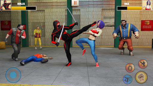 Ninja Superhero Fighting Games: City Kung Fu Fight apktram screenshots 2