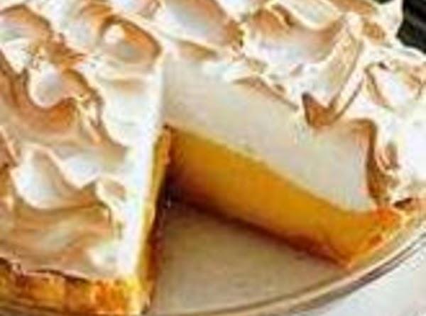 Mom's Lemon Meringe Pie Recipe