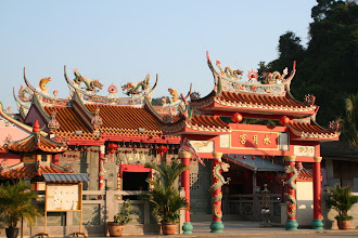Photo: Shui Yue Gong (Water & Moon Temple) nearby Gua Musang, Kelantan