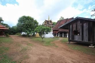 Photo: Laos Reisen, Tempel Khong Island
