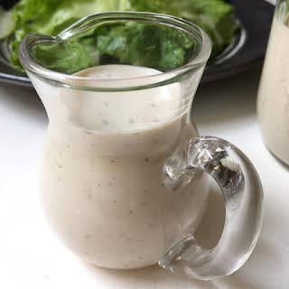 Greek Yogurt Caesar Salad Dressing.