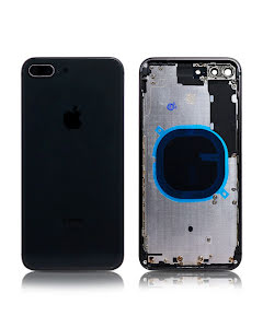 iPhone 8 Plus Housing without small parts HQ Black