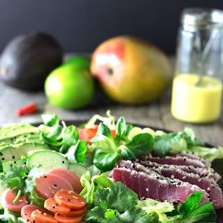 Sesame Tuna Salad.