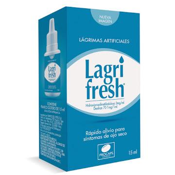 Lagrifresh 3Mg Gotas   Frasco x15Ml. Procaps Hidroxipropilmetilcelulosa