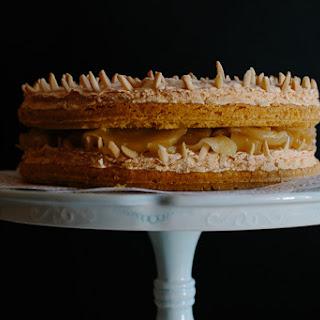 Apple Sponge Meringue Cake