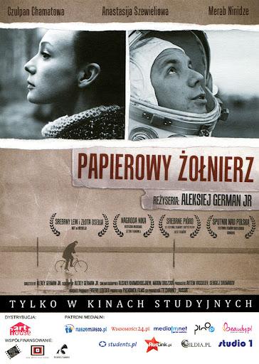 Przód ulotki filmu 'Papierowy Żołnierz'