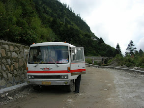 Photo: Zangmu-Nyalam road