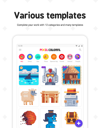 Pixel ColorFil: Color by Number screenshots 15