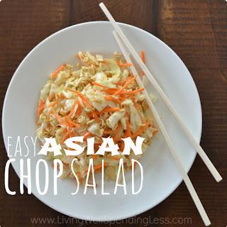 Easy Asian Chop Salad Recipe