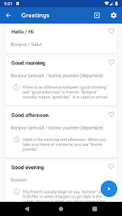 Learn French Phrasebook Pro 3.3.0 MOD + APK + DATA Download 2