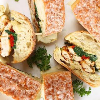 Italian Chicken Cutlet Sandwiches.