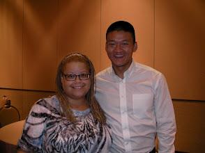 Photo: The amazing activist, Lt. Dan Choi, taken at NN10 in Las Vegas.