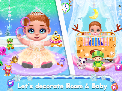 Ice Princess Pregnant Mom and Baby Care Games 4