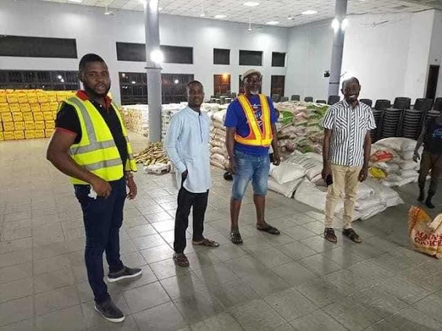 PHOTO NEWS Bonny Lockdown: Three Trucks of Food Palliatives Arrive Island from the Rivers State Government