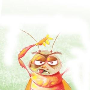 زعتر يكتشف الحشرات - صريصران