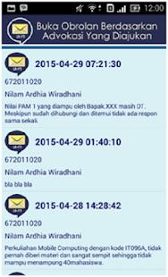 Advokasi BPMF - FTI UKSW screenshot
