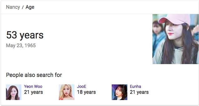 google nancy age 1