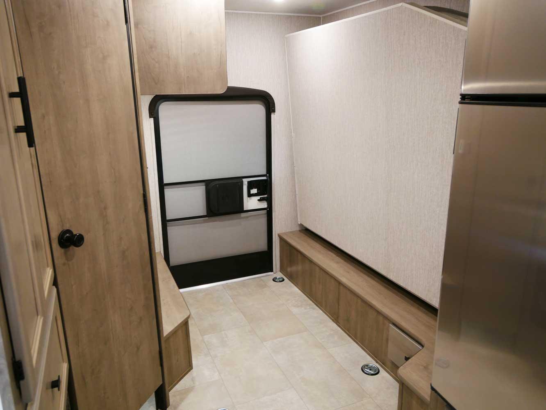 Coachmen Freelander 22XG has good cargo area with rear access for storage of gear