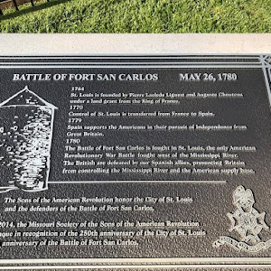 Shop Near Me >> Read the Plaque - Battle of Fort San Carlos, May 26, 1780