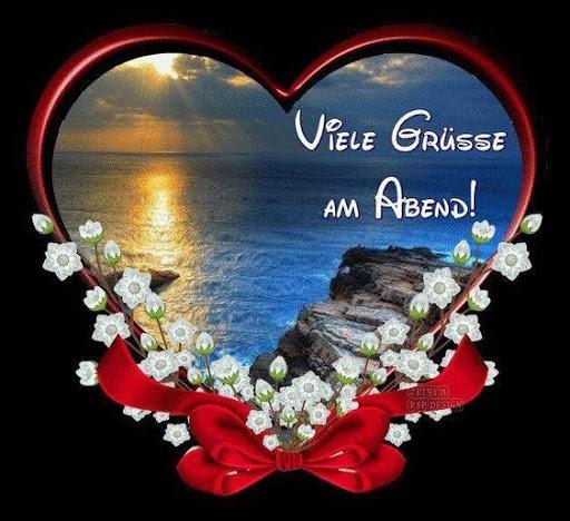 Abend romantisch schönen LIEBE IST