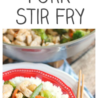 Pork and Veggie Stir Fry - How to Velvet Meat