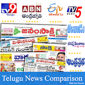 Telugu News:Sakshi,eenadu,TV9 Telugu Live,V6 News Android APK Download Free By Active News