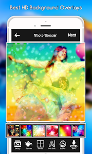Photo Blender : Photo Mixer App, Overlays - náhled