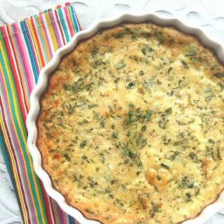 Quick Zucchini Quiche