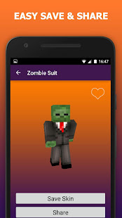 Zombie Skins For Minecraft PE Apps On Google Play - Skins para minecraft pe zombie