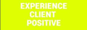 Experience client positive fond jaune