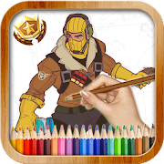 How to Draw: Fortnite Battle Royale icon
