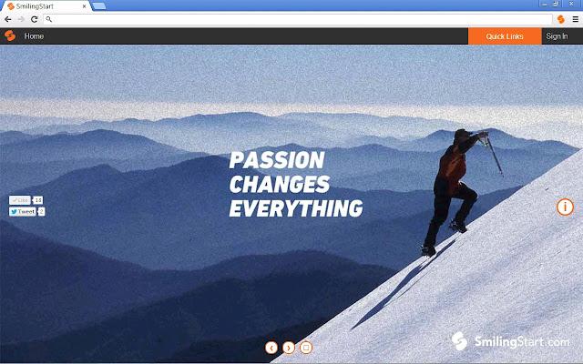 SmilingStart – Responsible Startpage