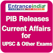 PIB India GK Current Affairs for UPSC Exams