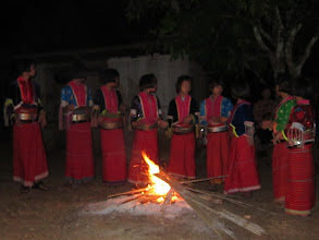 Photo: Dancing around the fire