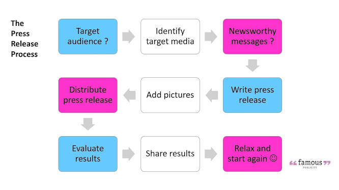 The Press Release Process Infographic
