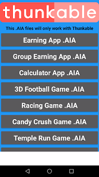 Download AIA King (Thunkable & Appybuilder AIA File) by Gamesbond007
