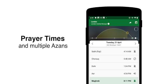 Muslim Pro - Prayer Times, Azan, Quran & Qibla 11.1 screenshots 7