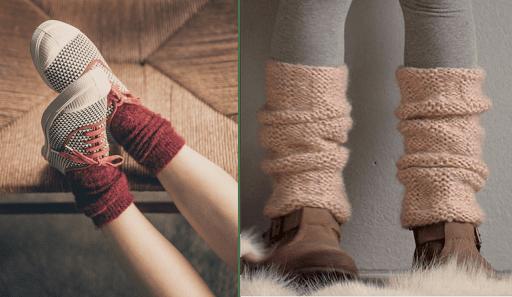 chaussettes enfant laine mi-jambes