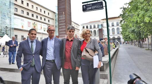 José Guirao rinde homenaje a Juan Goytisolo en Madrid
