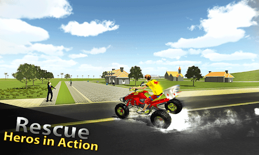 Beach Life ATV Rescue Bike- screenshot thumbnail