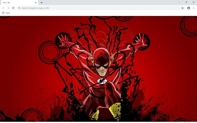 The Flash Series Wallpapers and New Tab