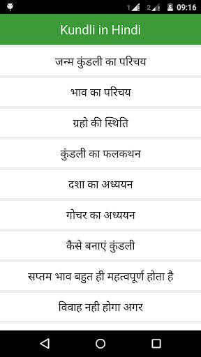 besplatno kundli sparivanje za brak na hindiju