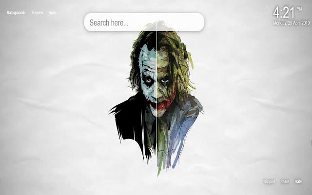 Joker Wallpaper HD New Tab Themes