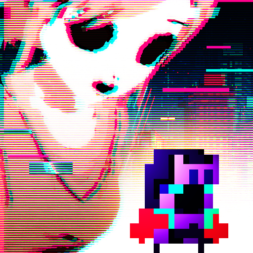 DERE EVIL EXE: Meta Horror Pixel Platformer Icon