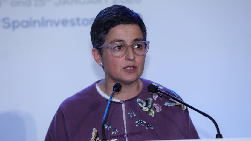 Arancha González, ministra de Asuntos Exteriores.