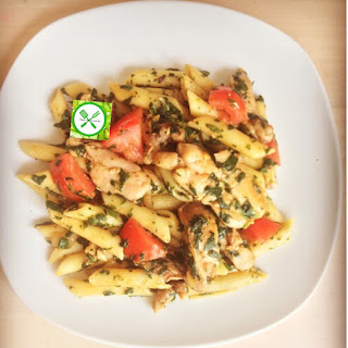 Chicken and Spinach Pasta Recipe